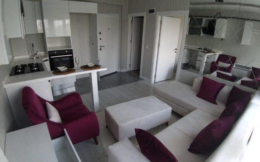 خرید آپارتمان استانبول یک خوابه گوزل یورت قسمت اروپایی استانبول رزیدانسی فوق العاده شیک