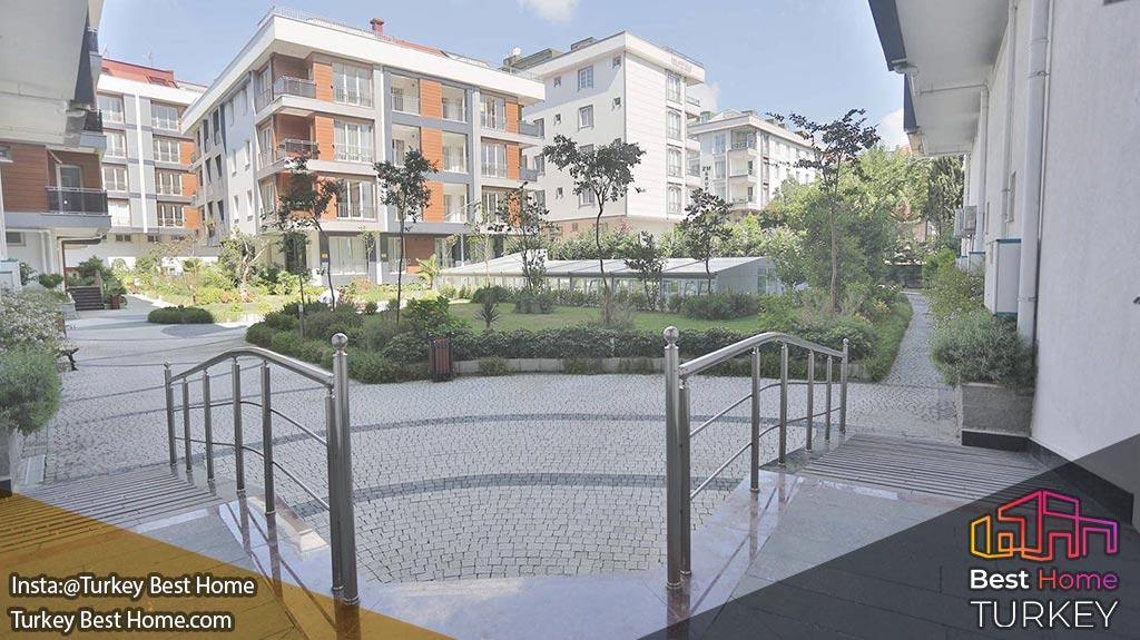 آپارتمان های لوکس با کلید آماده برای فروش در استانبول با ویوی رو به دریا