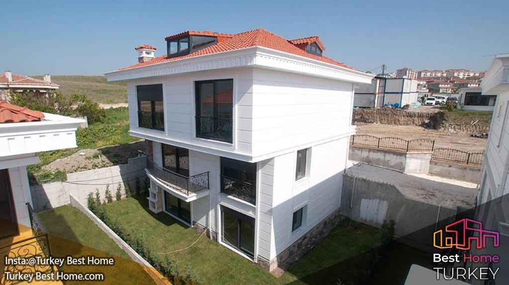 پروژه ویلای Marina Key در منطقه (بیلیک دوزو Beylikduzu)