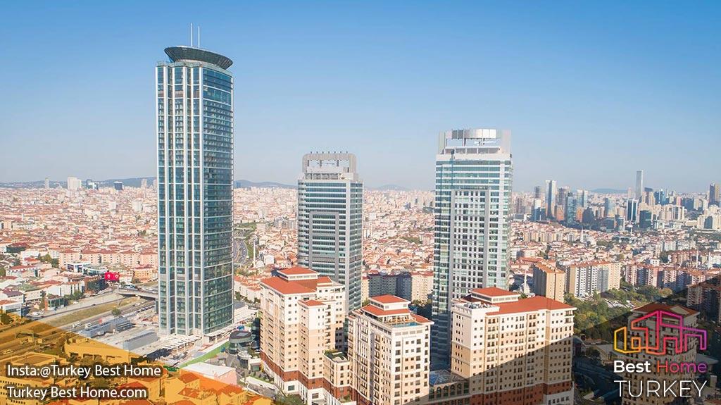 پروژه امار اسکوئر در استانبول emaar square Istanbul