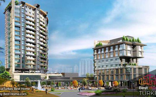 آپارتمانهای مشرف به دریا در منطقه کادیکوی  Kadikoy