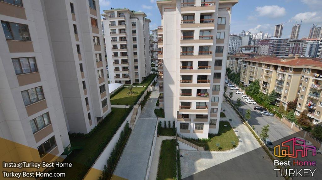 آپارتمان های مدرن استانبول در منطقه اسن یورت Esenyurt