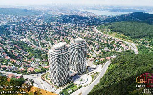 فروش آپارتمان در منطقه بیکوز Beykoz
