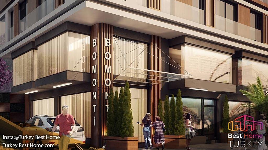 فروش آپارتمان های لوکس در منطقه شیشلی Sisli خرید آپارتمان در شیشلی