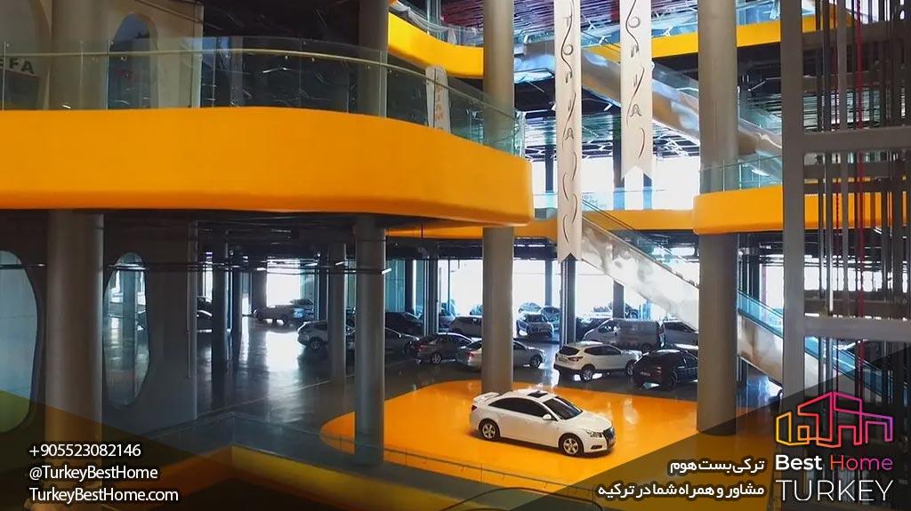 مرکز خرید خودرو در استانبول فروش نمایشگاه اتوموبیل در استانبول اجاره نمایشگاه اتوموبیل در استانبول Autopia avm خرید مرکز تجاری در استانبول خرید مغازه در استانبول