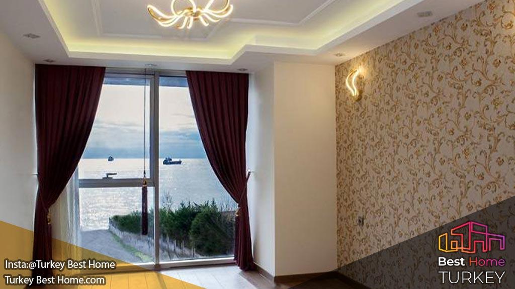 ویلاهای لوکس دنیز یلدیز در استانبول منطقه بیلیکدوزو Beylikduzu Deniz yildizi villa