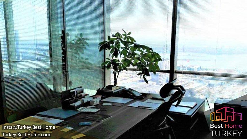 املاک و دفاتر تجاری ازمیر در برج فولکارت FOLKART Towers Izmir