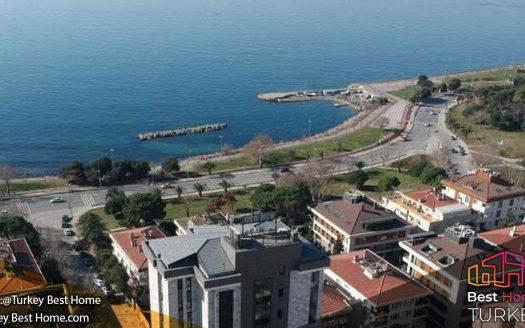 فروش پنت هاوس استانبول با نمایی پانوراما و ویوی رو به دریا در کادیکوی Kadikoy