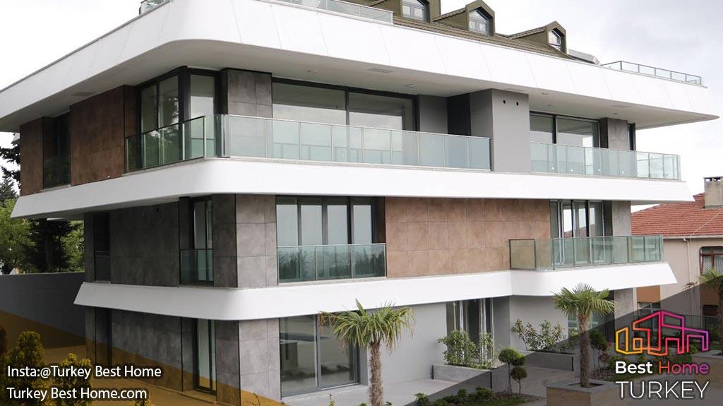 فروش آپارتمانهای لوکس در استانبول با منظره دریاچه در بویوک چکمجه Buyukcekmece