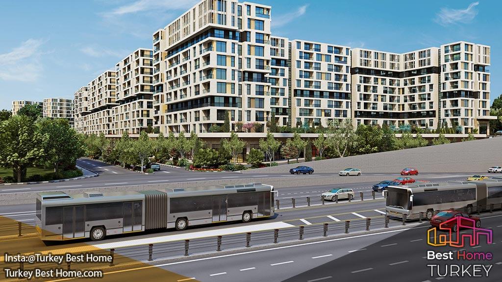 خرید ملک در پروژه وست ساید استانبول در بیلیکدوزو Beylikduzu Westside Istanbul