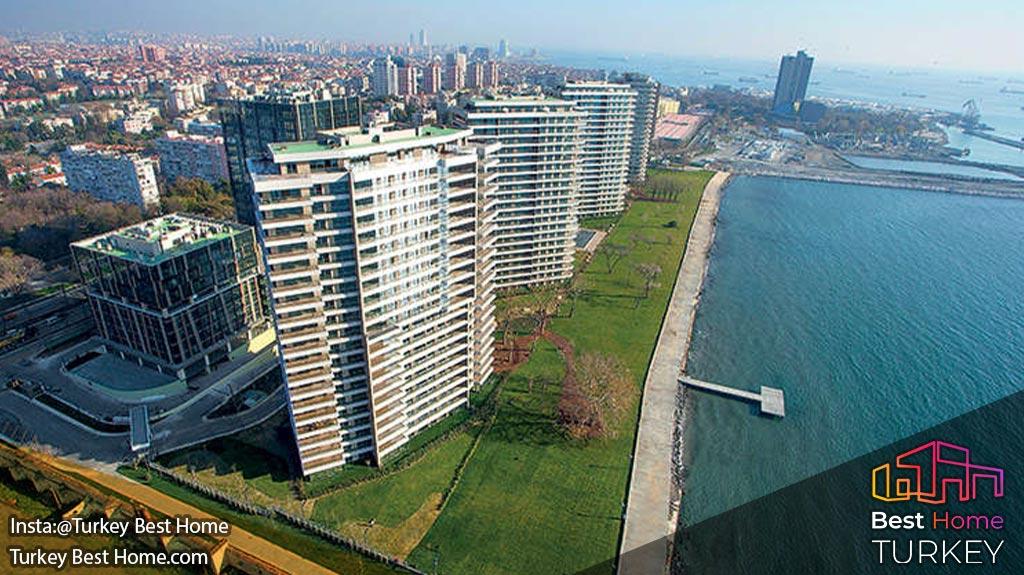 خرید ملک در پروژه یالی آتاکوی منطقه باکیرکوی استانبول Yalı Ataköy BAKIRKÖY