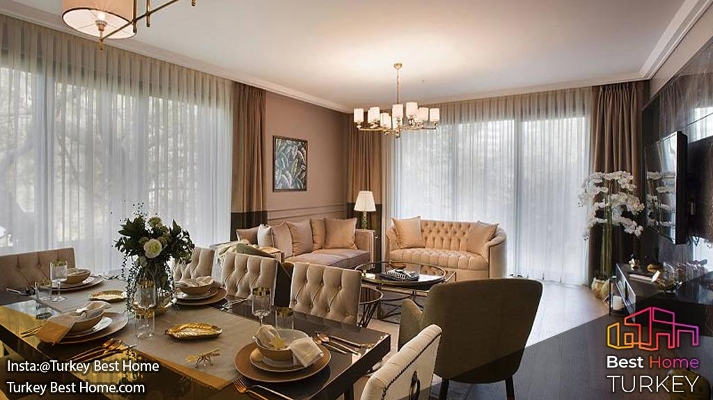پروژه آپارتمان های yamanevler در عمرانیه شهر استانبول