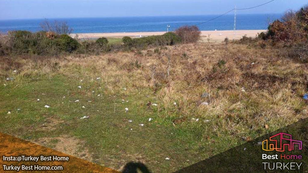 فروش قطعه زمینی بزرگ در منطقه شیله Sile در خط ساحلی دریای سیاه