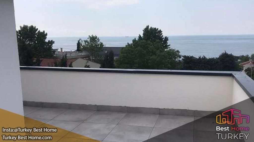 خرید خانه در مجتمع ویلایی لیو مارین بیلکدوزو استانبول Liv Marine Beylikduzu
