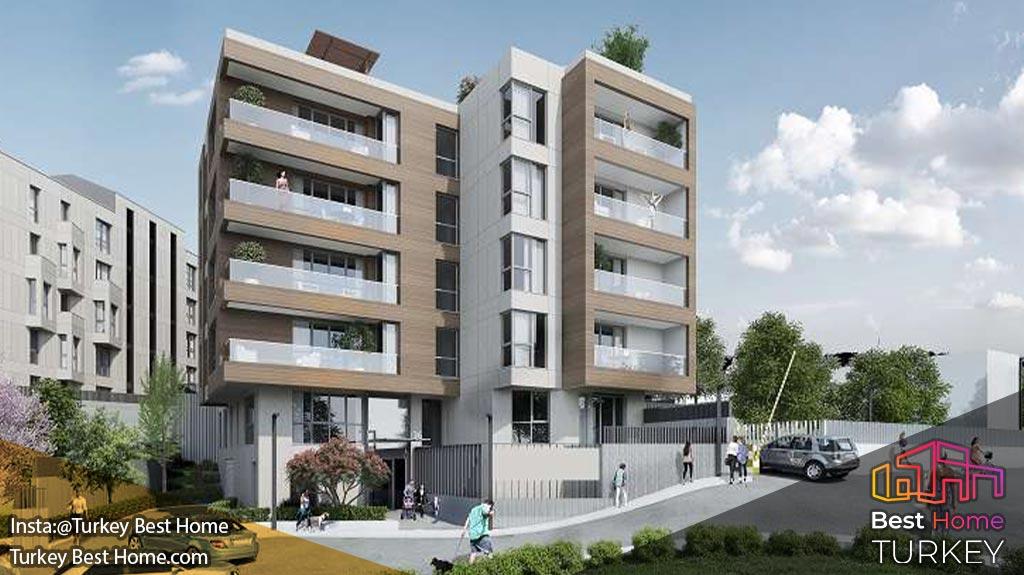 خرید آپارتمان در پروژه میکا نتورالیست 2 در منطقه کمر بورگاز mika naturalist 2 kemerburgaz