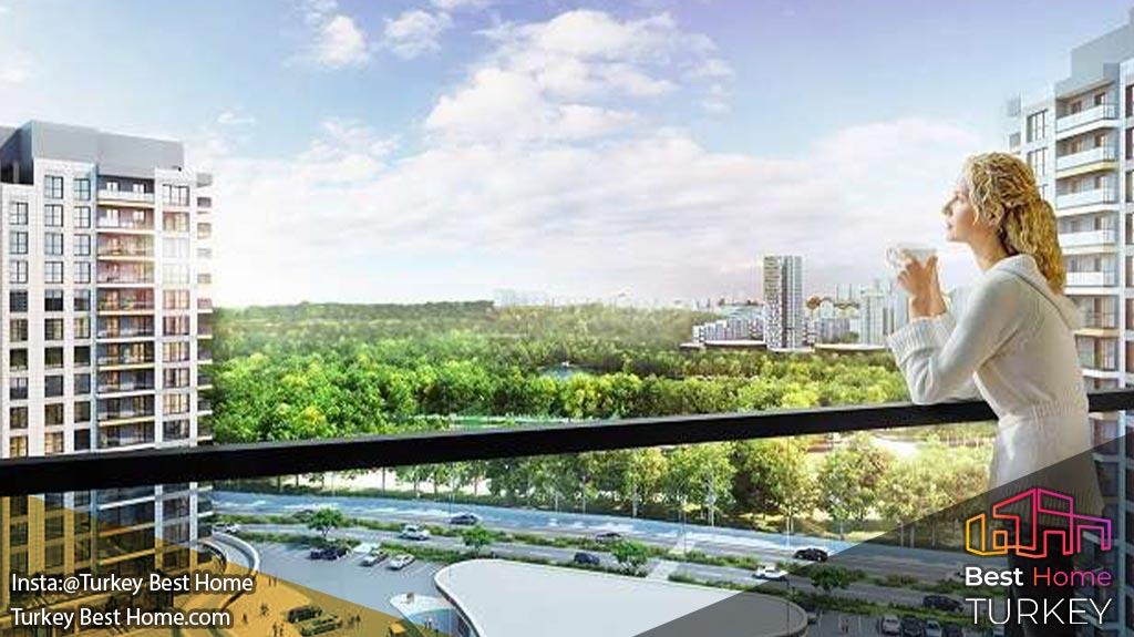 پروژه پارک ماورا 3 در باشاک شهیر Basaksehir Park Mavera 3