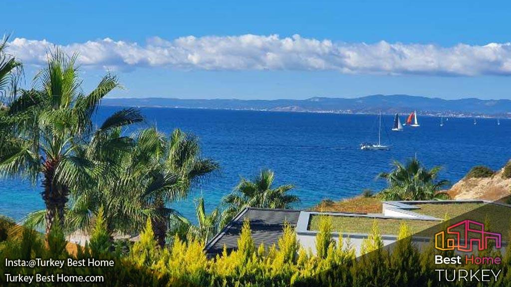فروش ویلا های مدرن و لوکس ساحلی در چشمه Cesme