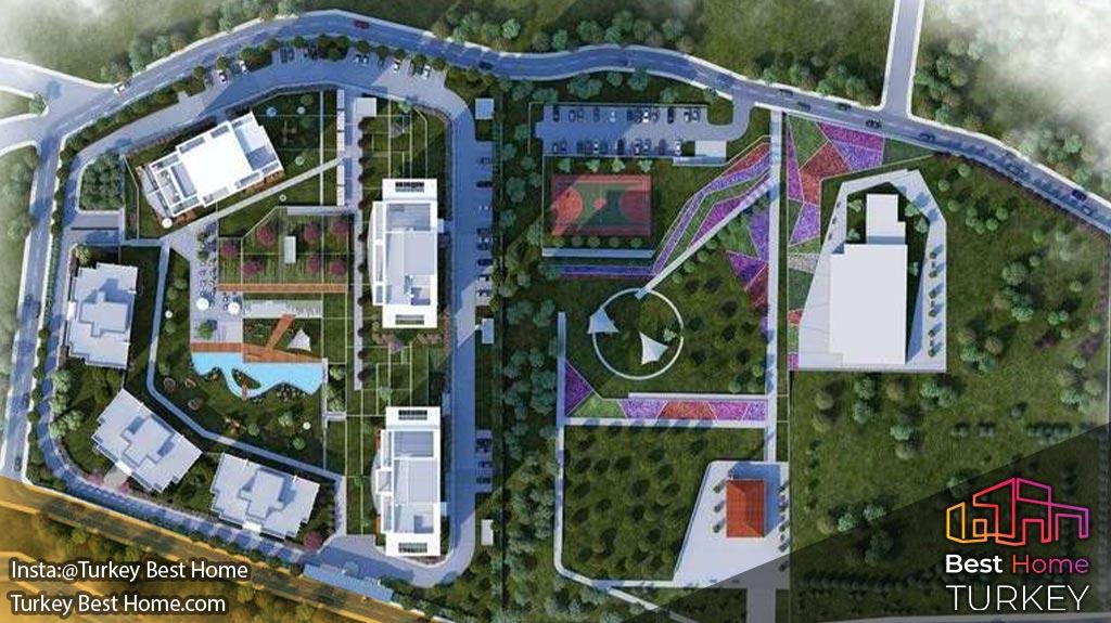 پروژه مسکونی توآل آدالار در کارتال kartal tual adalar