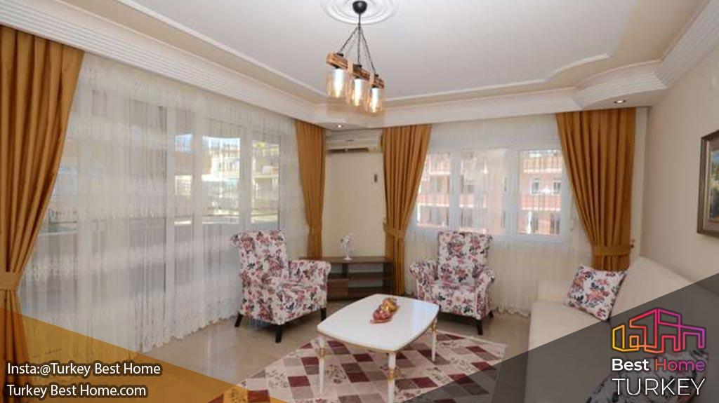 فروش آپارتمان سنتی نزدیک به منطقه محموتلار Mahmutlar آلانیا