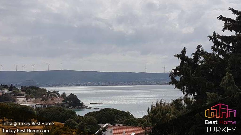 ویلا لوکس 5 تخته با ویوی دریا در منطقه چشمه  Cesme