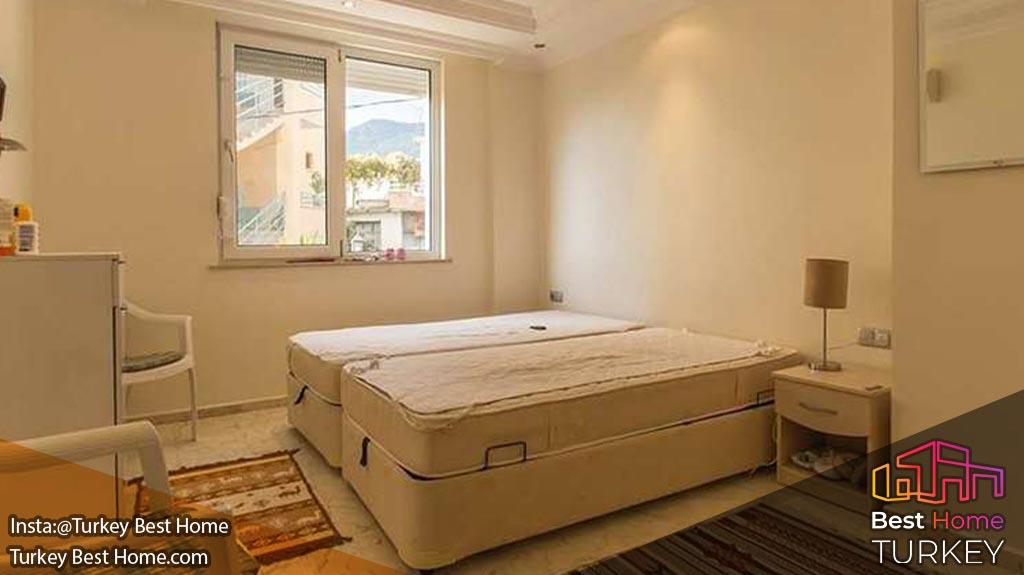 فروش آپارتمان مدرن با دید دریا در املاک مرکز بکتاش Bektas در آلانیا