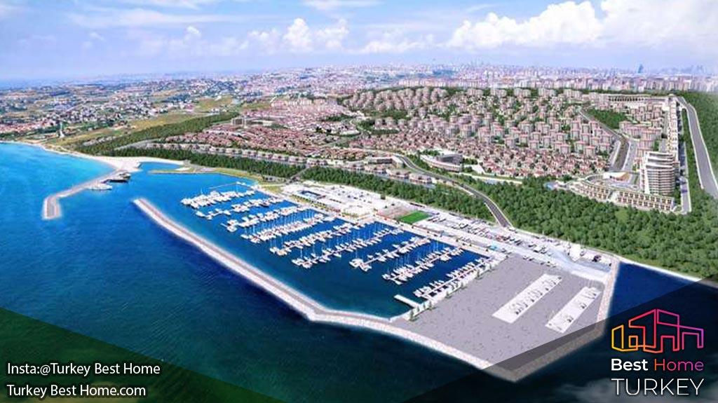ویلا های جدید دنیز استانبول در بیلیکدوزو Beylikduzu DenizIstanbul