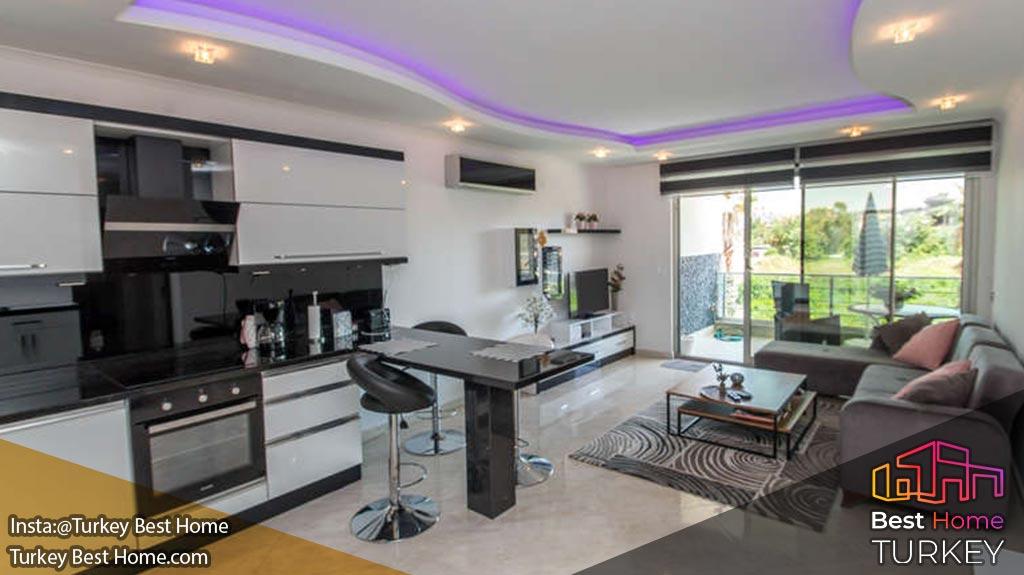 آپارتمان لوکس و بزرگ در منطقه اوبا Oba آلانیا