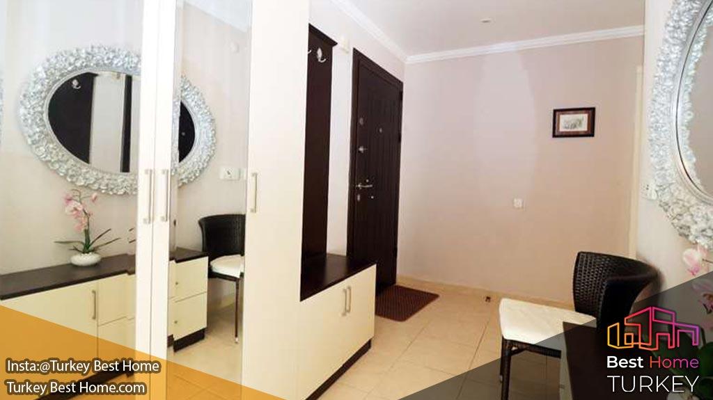 فروش آپارتمان مدرن دو خوابه در منطقه محموتلار Mahmutlar آلانیا