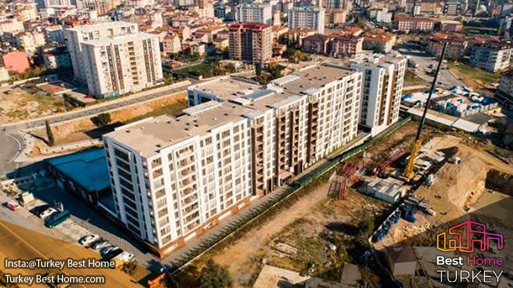 پروژه آپارتمان 143 اون دورت اوچ پندیک  Ondörtüç Pendikپروژه آپارتمان 143 اون دورت اوچ پندیک  Ondörtüç Pendik