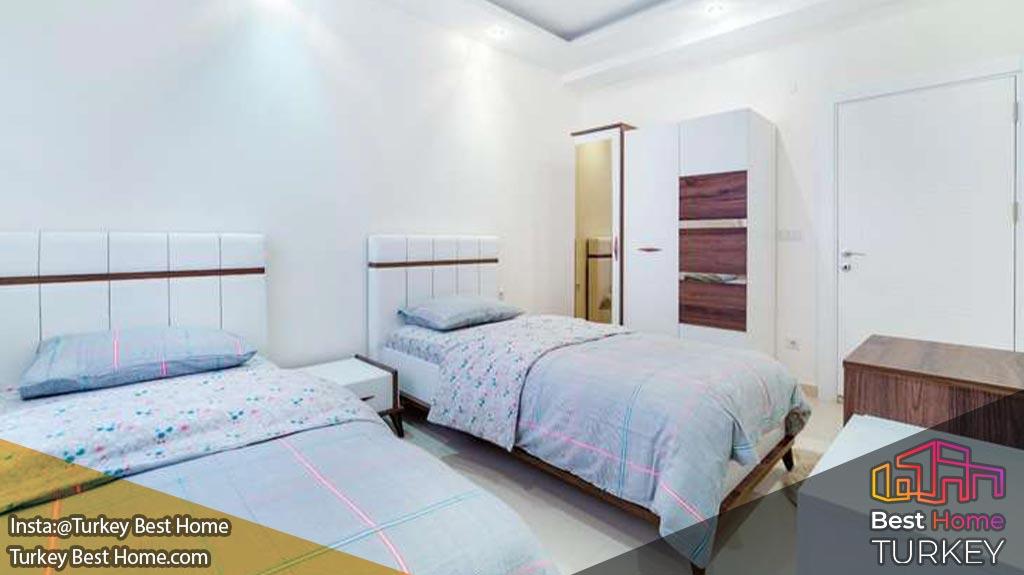 پنت هاوس 4 خوابه تازه ساز در محموتلار mahmutlar