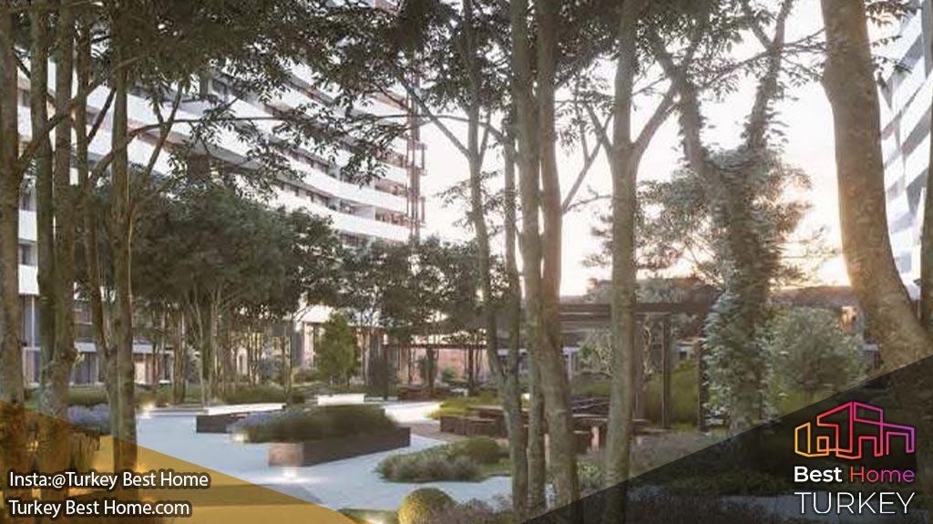 خرید آپارتمان لوکس فولکارت اینسیتی در ازمیرFOLKART INCITY Izmir