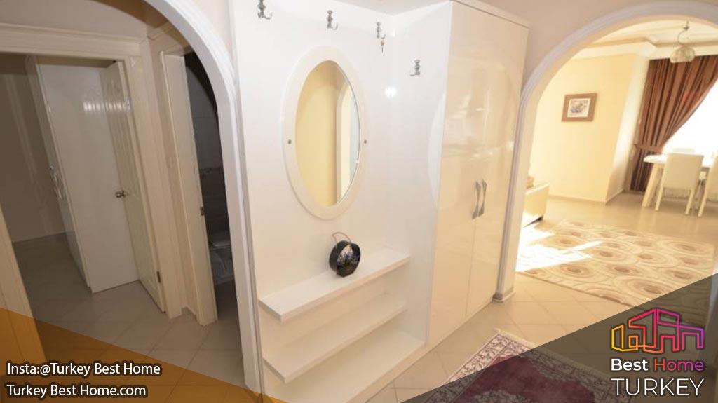 فروش آپارتمان دوبلکس 2 خوابه با ویوی دریا در محموتلار Mahmutlar