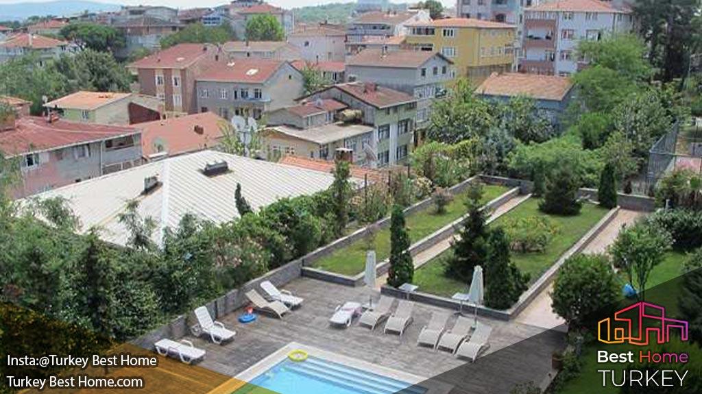 آپارتمان معتبر استانبول در ترابیا Modern Turkey Real Estate in Tarabya ترابیا