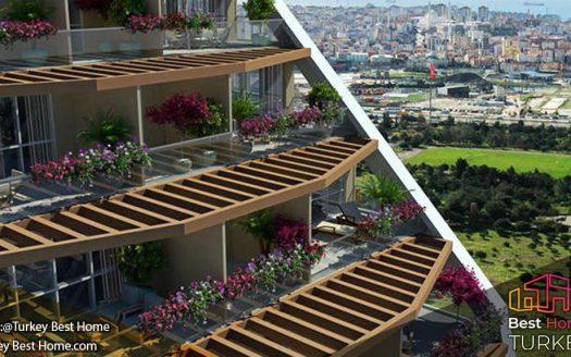 خرید ملک در کارتال پروژه چوبوک روا بالکن ÇUKUROVA BALKON Kartal