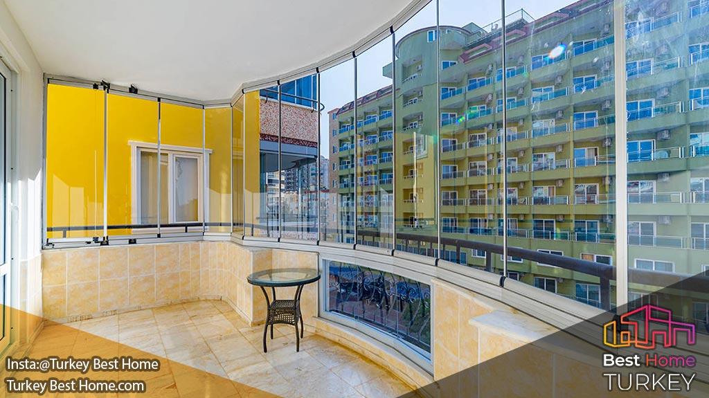 فروش آپارتمان سنتی 2 خوابه با دید دریا در محموتلار Mahmutlarفروش آپارتمان سنتی 2 خوابه با دید دریا در محموتلار Mahmutlar