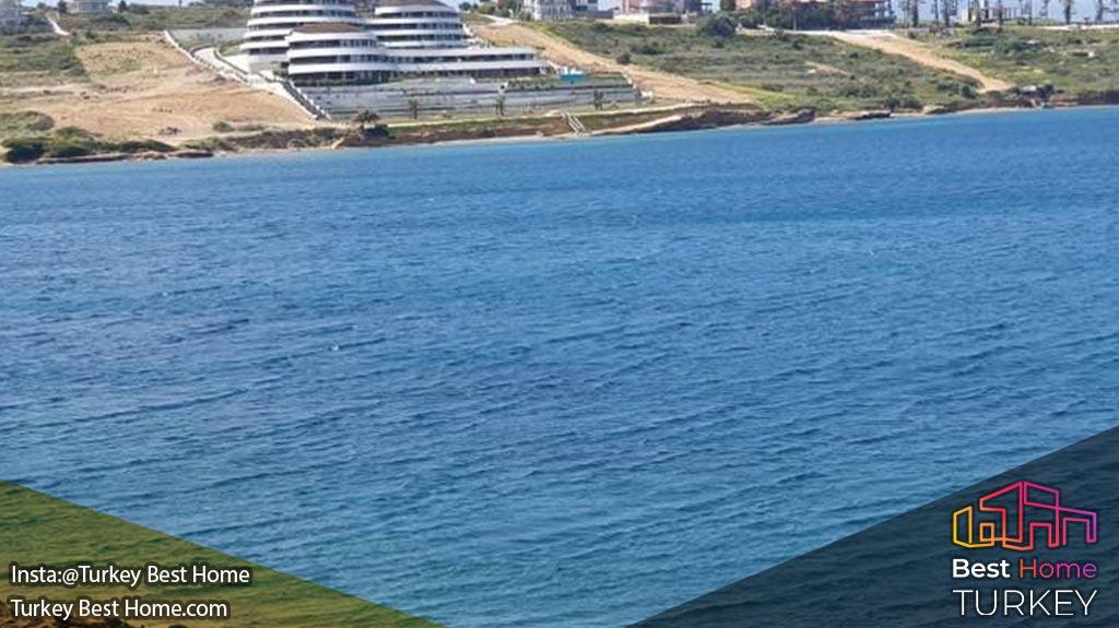 آپارتمانهای ساحلی در ازمیر با کانسپت هتل در چشمه ceshme