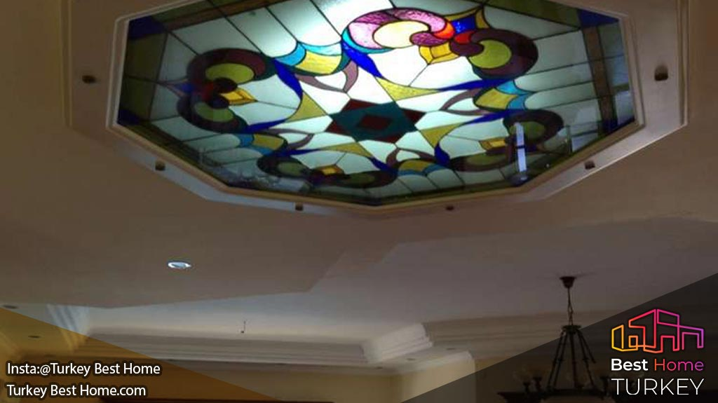 ویلا سنتی جدید در ازمیر با چشم انداز عالی دریا در در منطقه چشمه Cesme
