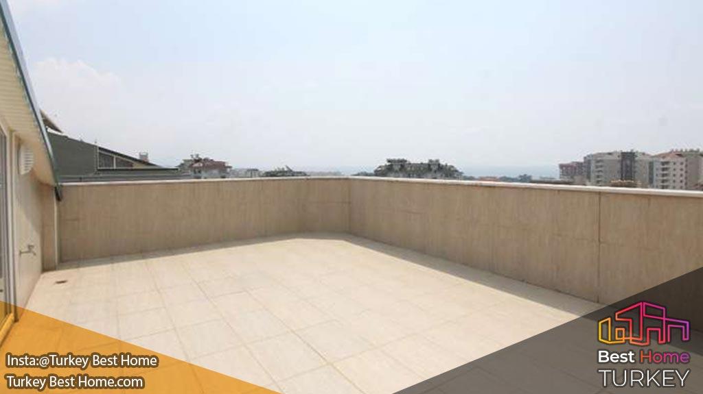 پنت هاوس بازسازی شده در جیکجیلی آلانیا پروژه Panaroma Garden