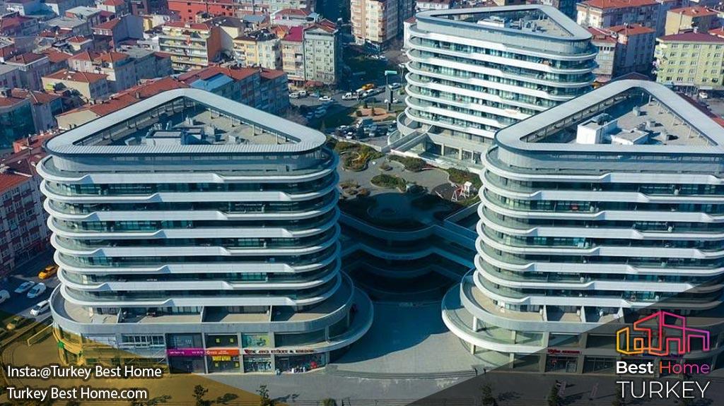 آپارتمانهای لوکس استانبول در منطقه گونگورن Gungoren
