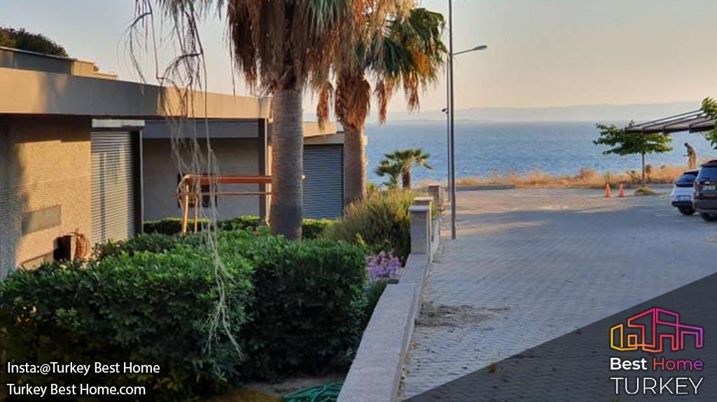 برای فروش ویلا لوکس با دید کامل دریا در چشمه Cesme