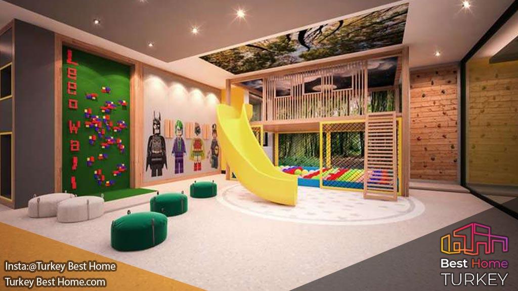 خرید آپارتمان در پروژه آریوم کمربورگاز Arium Residence Kemerburgaz