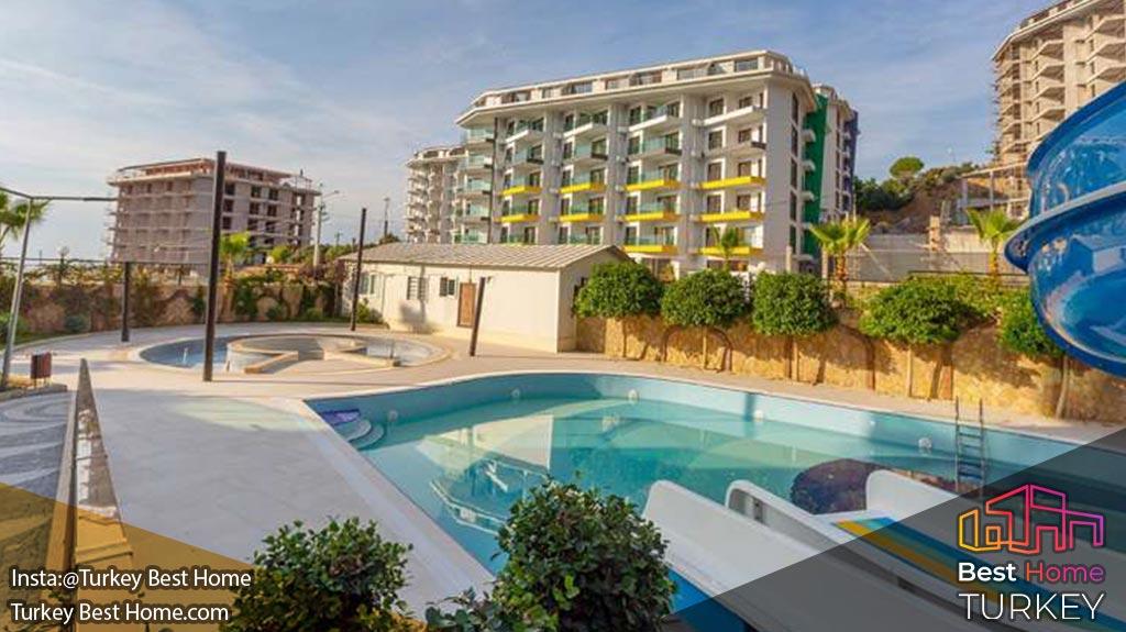 آپارتمان دوخوابه با امکانات آبگرم در کارگیجاک Kargicak