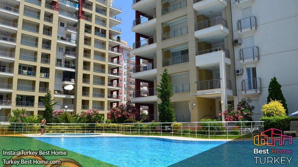 فروش آپارتمان 2 خوابه مقرون به صرفه در در محموتلار Mahmutlar