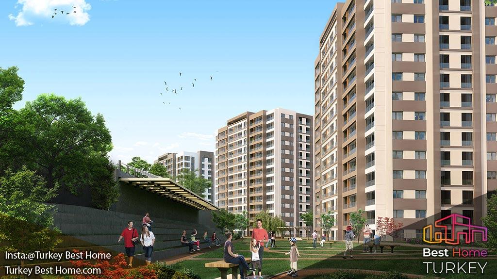 خرید آپارتمان در پروژه ویرا استانبول Vira Istanbul
