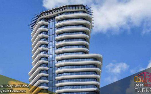 آپارتمان مدرن استانبول با نماهای دریاچه دریا در آوجیلارAvcilar