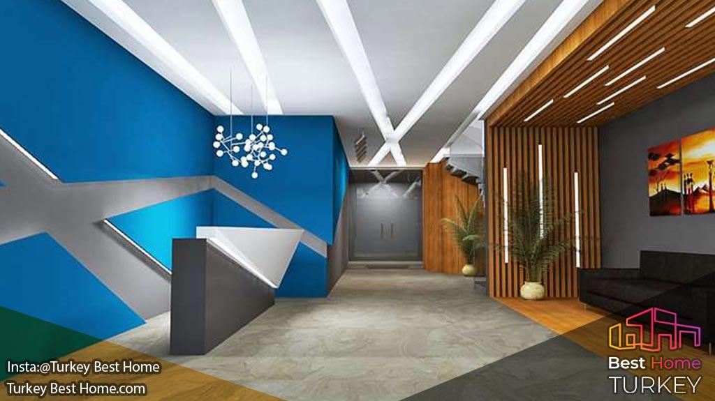 فروش آپارتمان لوکس با 400 متر فاصله از ساحل در محموتلار Mahmutlar