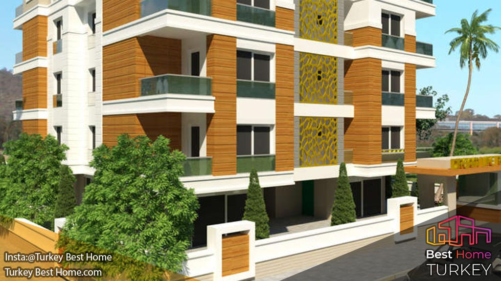 فروش آپارتمانهای منطقه ی لیمان Liman کنیالتی konyaalti در آنتالیا