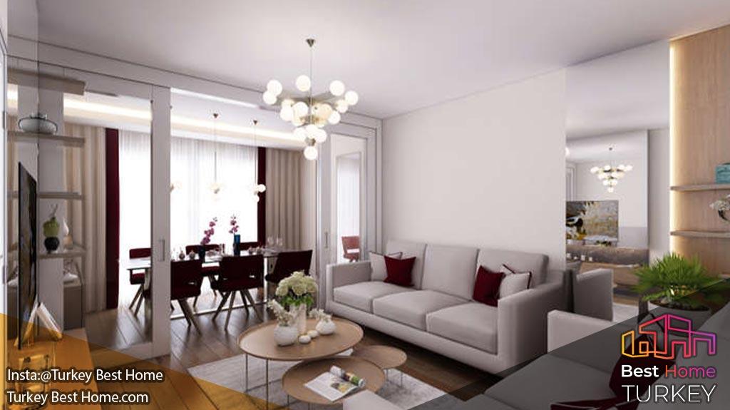 آپارتمانهای فروشی با ضمانت دولت در منطقه آوجیلارAvcilar
