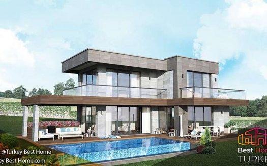 ویلا های لوکس با منظره ی پاناروما دریاا برای فروش در چشمه Cesme