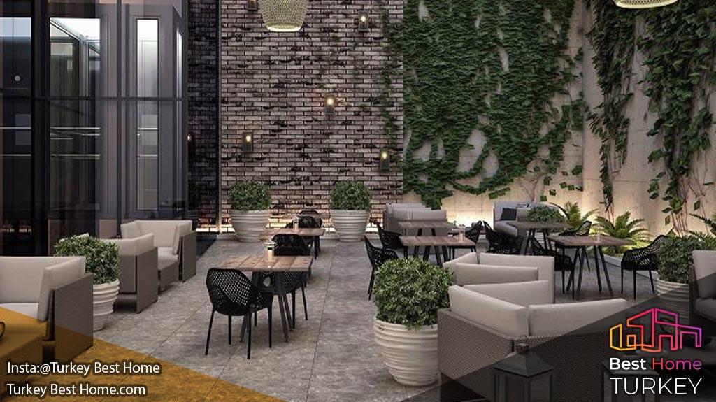 فروش آپارتمانهای با کانسپت هتل در آلسانجاک Alsancak